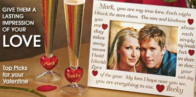 Click here for the best deals on unique Personalized Valentines Gifts!